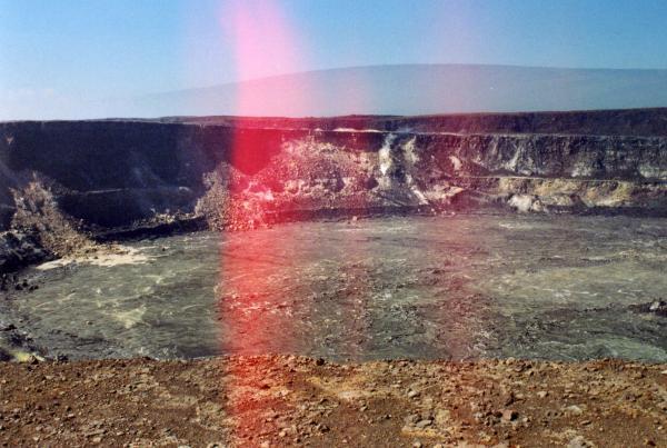 Halemaumau Crater Panorama Left
