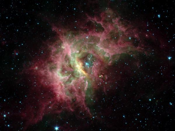Star Formation in RCW49 From the Spitzer Space Telescope
