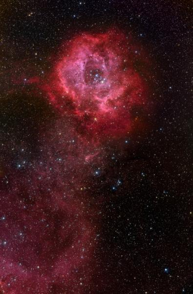 Long Stem Rosette Nebula