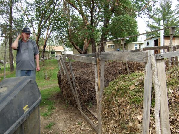 the Beav talking about the compost
