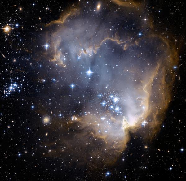 NGC 602 Star Forming Nebulae