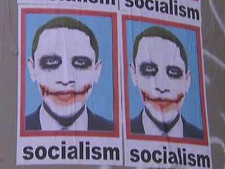 obama joker poster in l a  image fox news