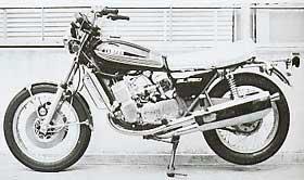 Yamaha GL750 prototype