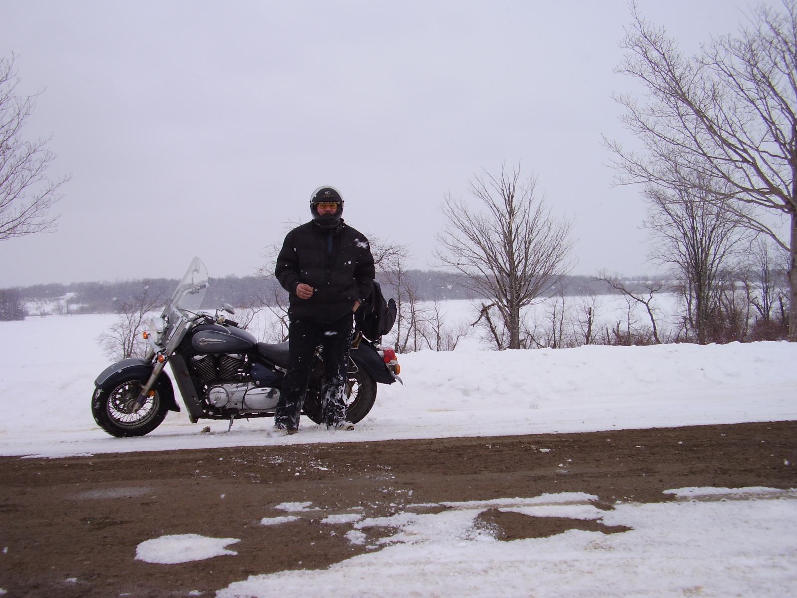 Still ridin.  Winter be damned!
