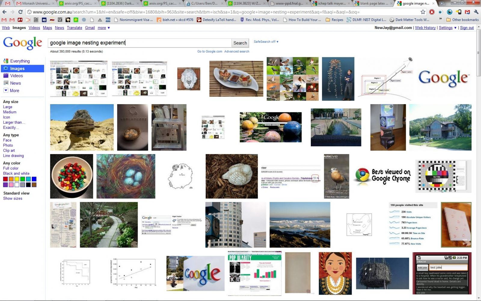 google image nesting experiment #2